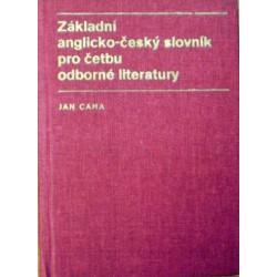 Caha Jan - Základní anglicko-český slovník pro četbu ...