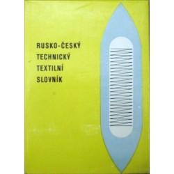 Lesyková E. a kolektiv - Rusko-český technický textilní slovník