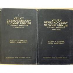 Kumprecht Karel - Velký česko-německý, německo-český slovník Unikum