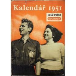 - Kalendář Rudého práva a Svobody na rok 1951