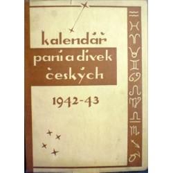 - Kalendář paní a dívek českých 1942-1943
