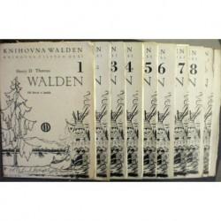 Thoreau Henry David - Walden čili Život v lesích 1. - 10.