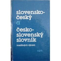 Nečas Jaroslav, Kopecký Miloslav - Slovensko-český a česko-slovenský slovník rozdílný