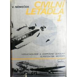 Němeček Václav - Civilní letadla 1.