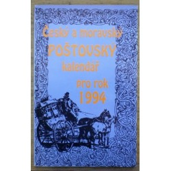 - Český a moravský poštovský kalendář pro rok 1994