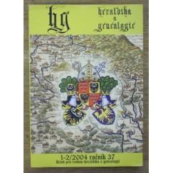 - Heraldika a genealogie ročník 37 - 2004 číslo 1/2