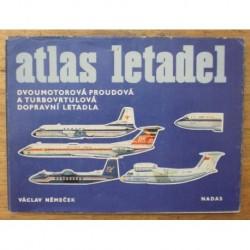 Němeček Václav - Atlas letadel (dvoumotorová proudová a turbovr...