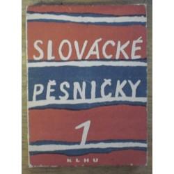 Poláček Jan - Slovácké písničky I.