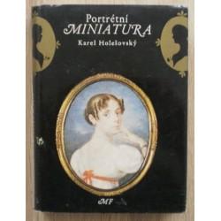 Holešovský Karel - Portrétní miniatura