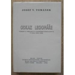 Tománek Josef V. - Odkaz legionáře