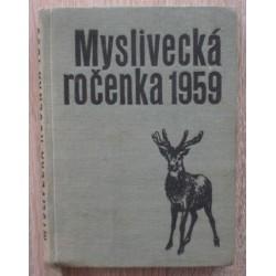 kolektiv - Myslivecká ročenka 1959