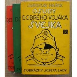 Hašek Jaroslav - Osudy dobrýho vojáka Švejka I. - IV.