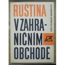 - Ruština v zahraničním obchodě