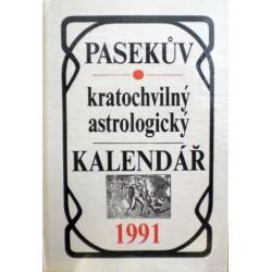 Čížek Vítězslav - Pasekův kratochvilný astrologický kalendář 1991