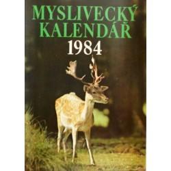 různí autoři - Myslivecký kalendář 1984