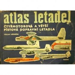Němeček Václav - Atlas letadel (čtyřmotorová a větší pístová dop...