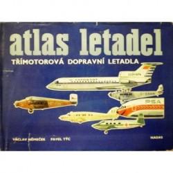 Němeček Václav, Týc Pavel - Atlas letadel ( třímotorová dopravní )