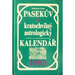 Čížek Vítězslav - Pasekův kratochvilný astrologický kalendář 1993