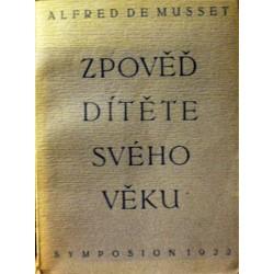 Musset Alfred de - Zpověď dítěte svého věku